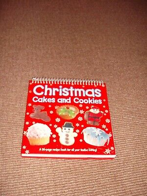 Christmas Cakes and Cookies by Nat Lambert (Spiral bound, 2010) children cooking ()