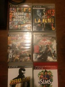 PS3 games. Gta 5 and more