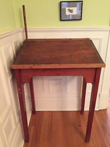 Antique Station Masters Desk