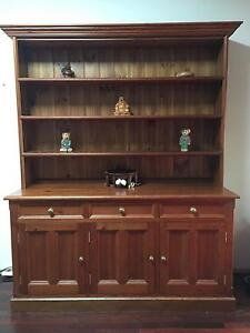 MUST GO $200 Ono - Recycled Oregon Buffet & Hutch / Sideboard Mortdale Hurstville Area Preview