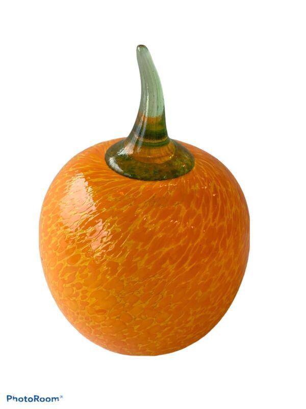 """KOSTA BODA Frutteria Fruit """"ORANGE"""" G SAHLIN #99026 VINTAGE COLLECTABLE Signed"""