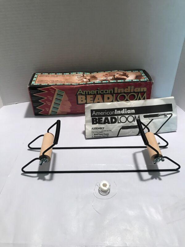Vintage American Indian Beadloom original box