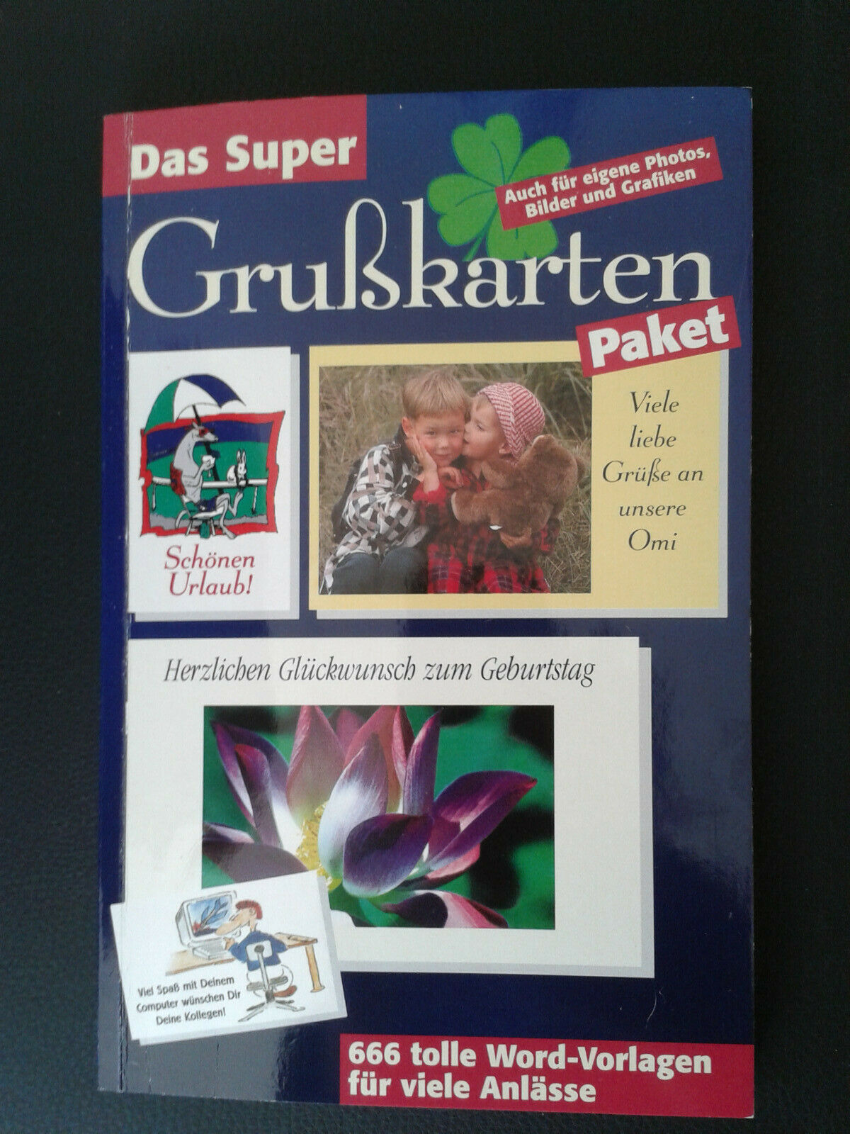 Word Vorlagen, Grußkarten mit CD