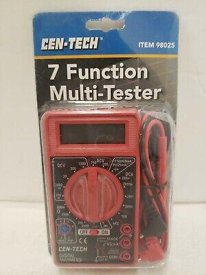 7 Function Digital Multimeter Voltmeter Voltage Tester Auto Electrical Brand-new