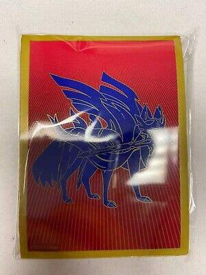 Pokemon Zacian Selaed Card Sleeve - 65 - Elite Trainer Box