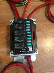 relay box ebay 12 Volt Fuse Panel Wiring 12V DC Fuse Block