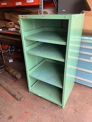 Stanley Vidmar 4 Shelf Storage Cabinet 30 Wide 28 Deep 59 12 Tall