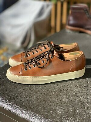 Buttero Tanino Low Size 39 US 7 Tan Leather