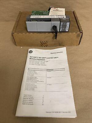 New Allen Bradley 1747-l541 Ser. C Slc 500 Cpu Controller Processor Rev. 7
