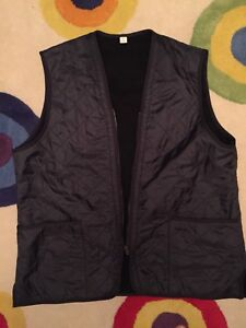 Men's Barbour Navy Blue Vest xxl
