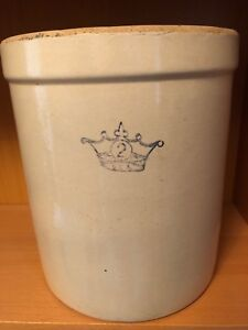 Antique Stoneware Crock 2 gallon