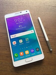 Samsung Galaxy note 4 White in great condition !!! Kuraby Brisbane South West Preview