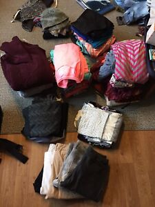 Women's , men's and baby boys clothing lot