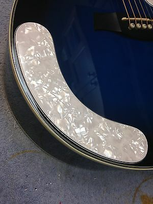 AEG10ii Armrest 4-Ply White Pearl made for Ibanez Acoustic Guitar Project NEW segunda mano  Embacar hacia Argentina