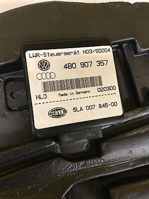Audi 2000 - 2002 B5 S4 OEM Hella Headlight Leveling Control Unit 4B0 907 357