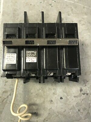 Siemens Circuit Breaker 100 Amp 240 3 Pole With 120v Shunt Bq3b10000s01