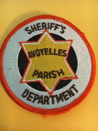 Avoyelles County Parish Louisiana Sheriff Vintage Police Patch