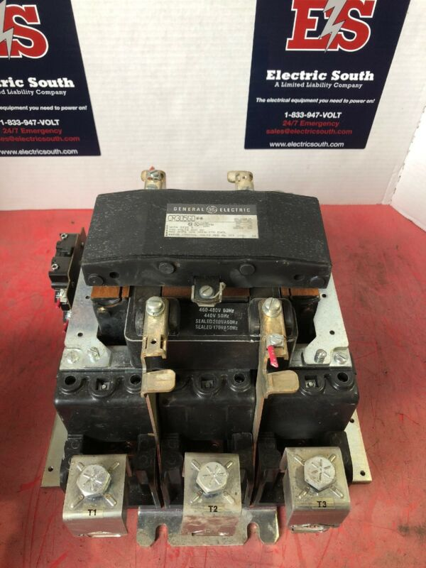 GE General Electric Size 5 Contactor 480 Volt Coil CR305G0**