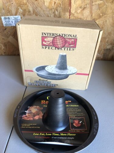 Nordic Ware Vertical Chicken Poultry Roasterie Roaster 1994