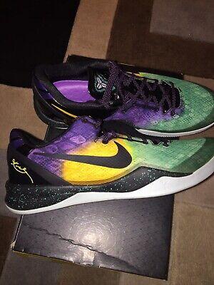 buy online d007c 6bd4b VINTAGE 2013 Nike Kobe 8 VIII System Easter Fiberglass Lakers size 14 Brand  New