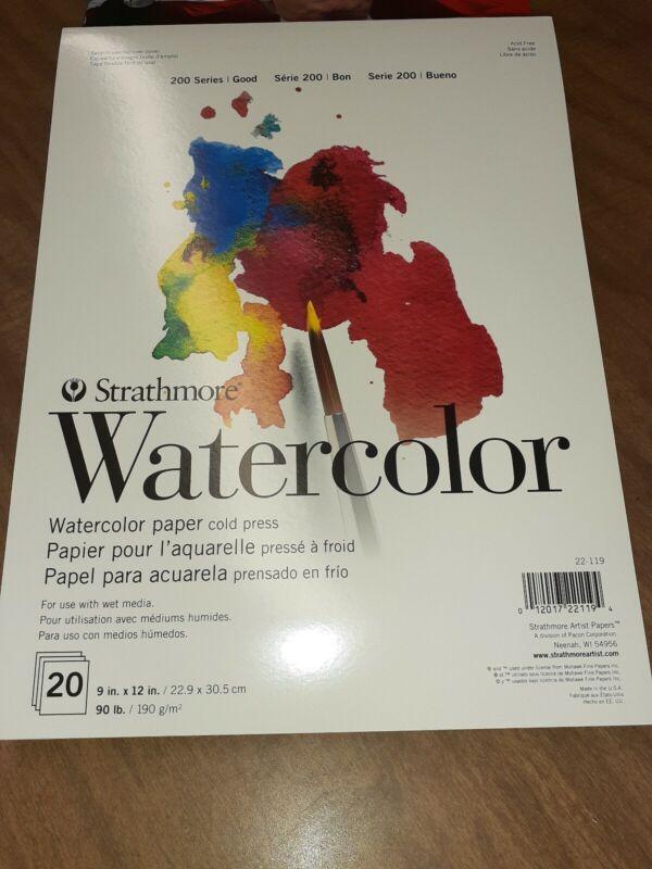 Strathmore watercolor paper Cold Press
