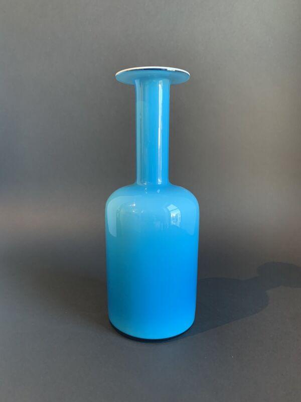 """HOLMEGAARD Gulvase 10"""" Blue"""