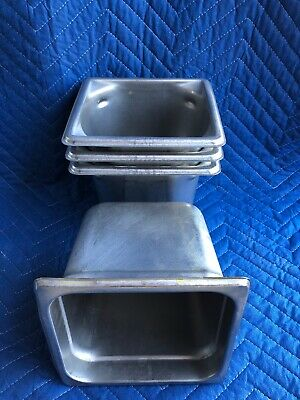 Lot Of 4 Steam Table Pans- 3 Vollrath 90662 1 Update Njp-166 Same Sizes