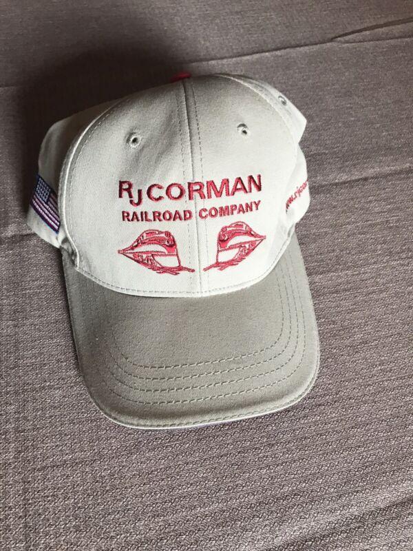 R J Corman Railroad Hat Preowned. Strapback
