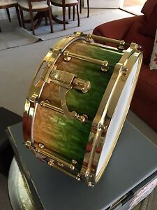 """Masterworks 6.5 """" Snare drum , mint condition Noosa Heads Noosa Area Preview"""