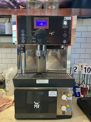 Wmf Bistro Espresso Machine With Refrigeration Unit For Whole And Skim Milk
