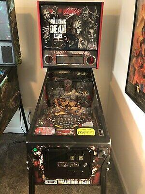 The Walking Dead Pro Pinball Machine. Great Condition w/ Shaker, DMD, & Mods.