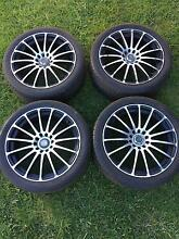 Holden/Ford 18 inch wheels & tyres Warilla Shellharbour Area Preview