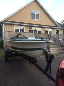 15' speed boat trade for dory