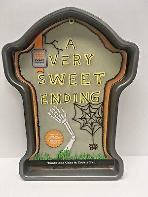 Halloween LARGE Tombstone Metal Cake Pan