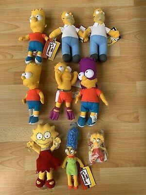 Simpsons Plüschfiguren - Homer - Bartman - Bart - Marge - Lisa