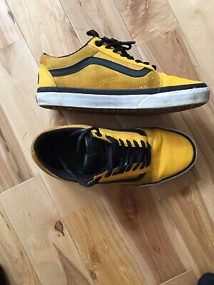vans north face Yellow Uk Size 8.5