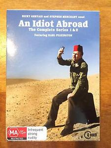 An Idiot Abroad Season 1&2 on DVD Chidlow Mundaring Area Preview