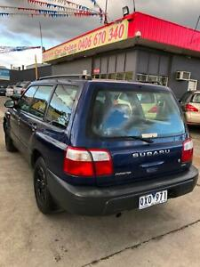 Subaru Forester 2001 AWD ••• RWC   REGO •••NEW TYRES & NEW BRAKE PADS Dandenong Greater Dandenong Preview