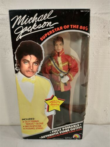 1984 Michael Jackson Doll ~ American Music Awards Outfit ~ Sealed