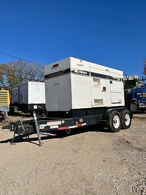 Multiquip Dca125ssju4i 100kw Trailer Mounted Diesel Generator- Load Bank Tested