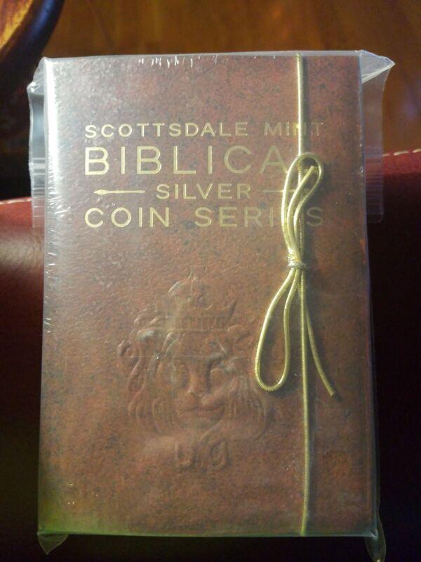 Scottsdale Mint Biblical Silver Christmas Nativity Coin 2oz