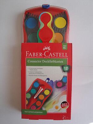 Faber-Castell Connector Deckfarbkasten