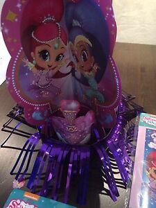 Shimmer and Shine birthday decorations