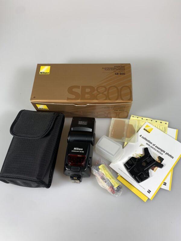 Speedlight SB-800 Shoe Mount Flash for Nikon Mint In Box