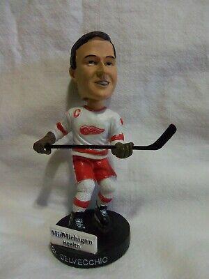 Alex Delvecchio Detroit Red Wings Legends Series Great Lakes Loons Bobblehead -
