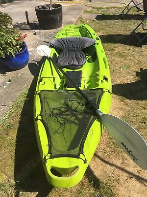 Feel free kayak with paddle and seat