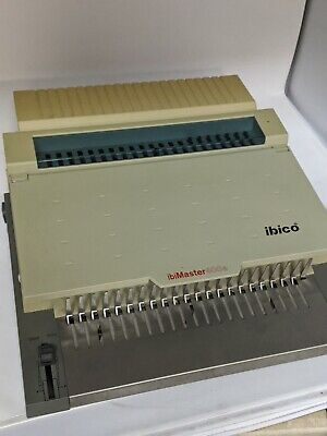 Ibico Ibimaster 400e Electric Binding And Hole Punch Machine - Works