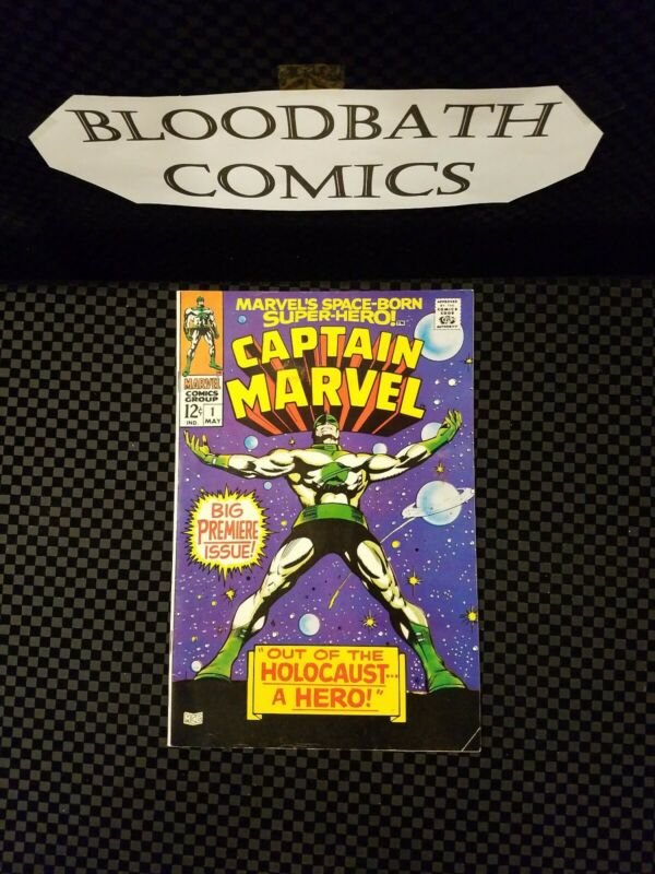 Silver Age Comic Captain Marvel #1 Key Issue  Comic Nice Book🌋🔥🔥🌋