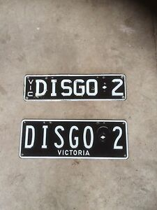 Personalised Number Plates Hastings Mornington Peninsula Preview