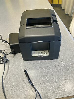 Star Micronics Tsp 650ii Point Of Sale Thermal Printer Wbluetooth - Dark Grey